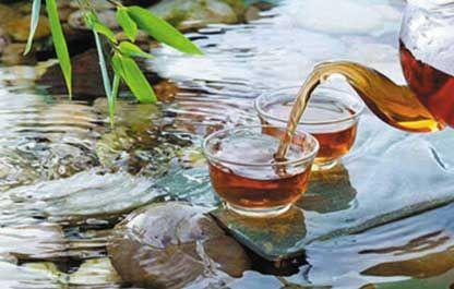 泡茶用水图片