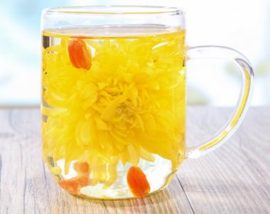 喝菊花茶要不要加冰糖?图片