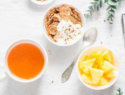 菠萝茶图片