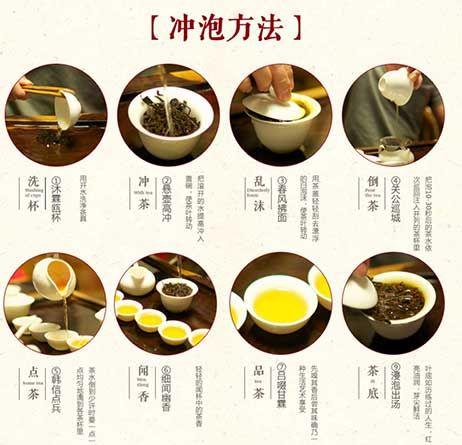 泡茶的步骤图片