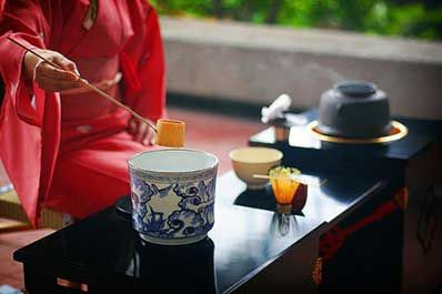 日本茶道图片
