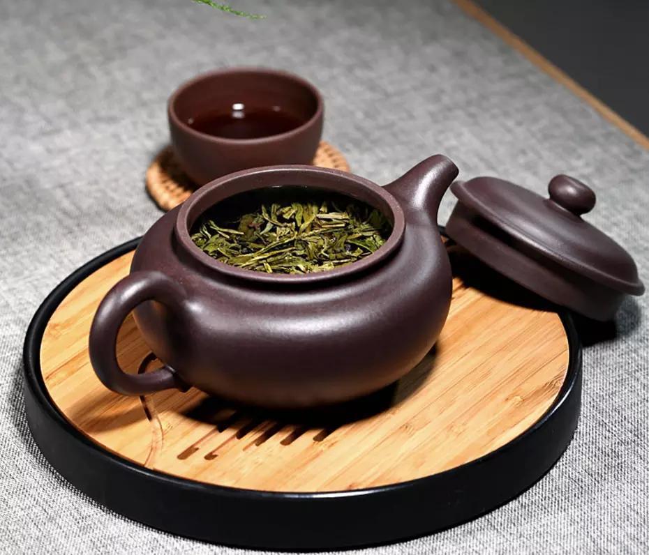 茶清香,紫砂茶壶让你慢慢品味图片